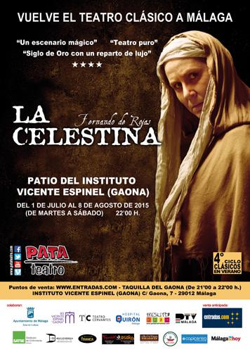 Cartel La Celestina A4 - PATA TEATRO