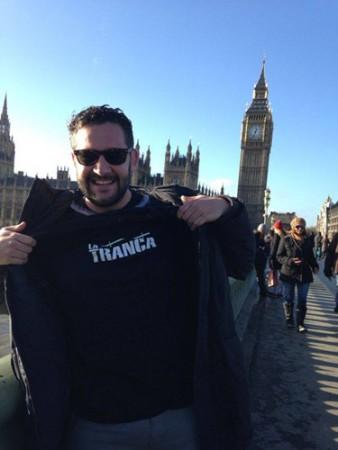Miguel. Londres, enero 2014