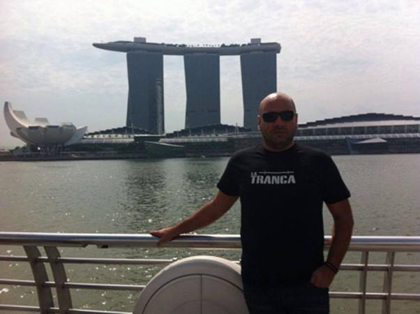 Godo. Marina Bay, Singapur, octubre 2013