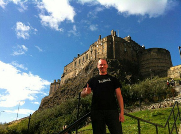 Paul. Edimburgo, septiembre 2013