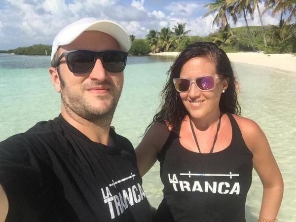 Cristina y José Manuel disfrutando de Cancún, noviembre 2018