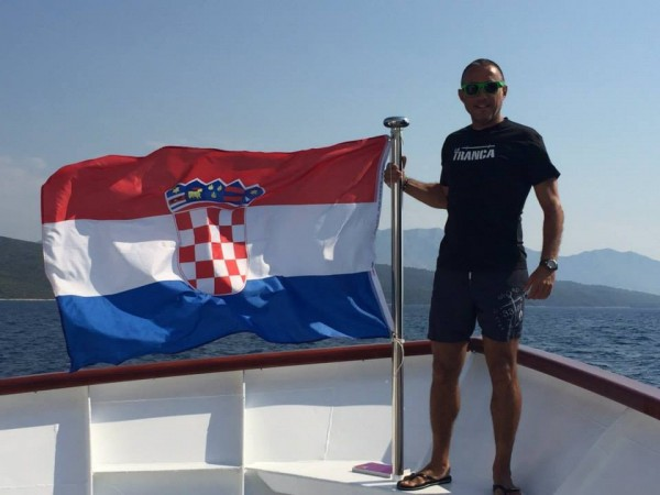 Isidro. Croacia, agosto 2015