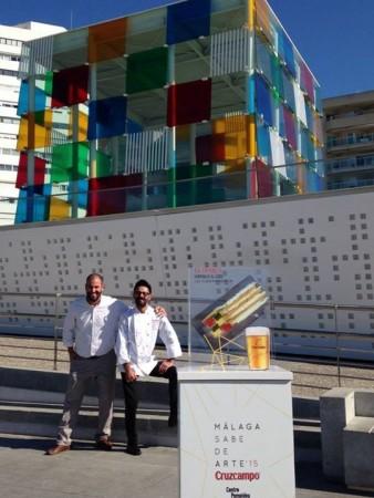 La_Tranca_Málaga_Cruzcampo_Pompidou_Cubo