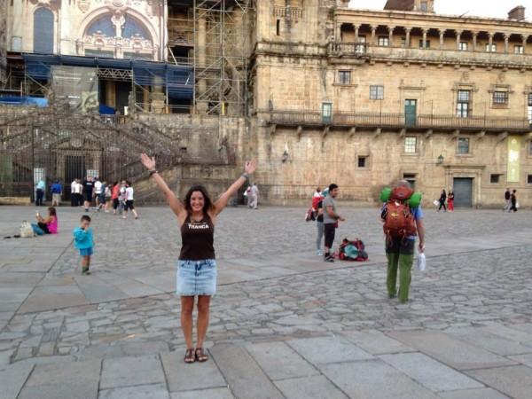 Gabriela. Santiago de Compostela, agosto 2015