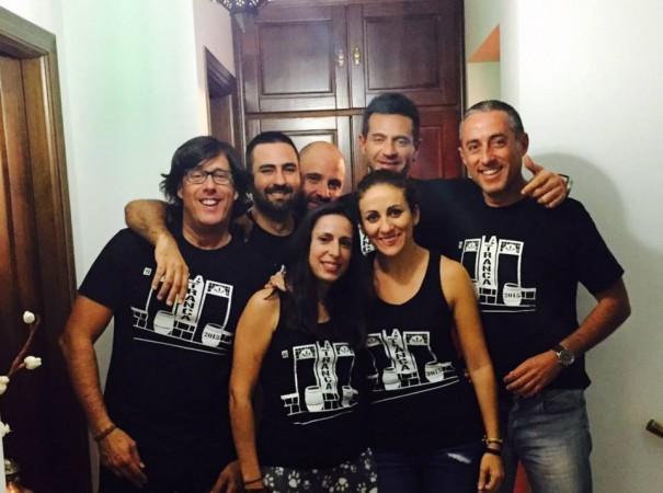 Unos cuantos de nuestros trancos@s. Teba, Málaga, noviembre 2015