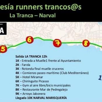 I travesía La Tranca, 10km