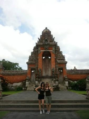 Mar y Gracia. Bali, dieciembre 2015