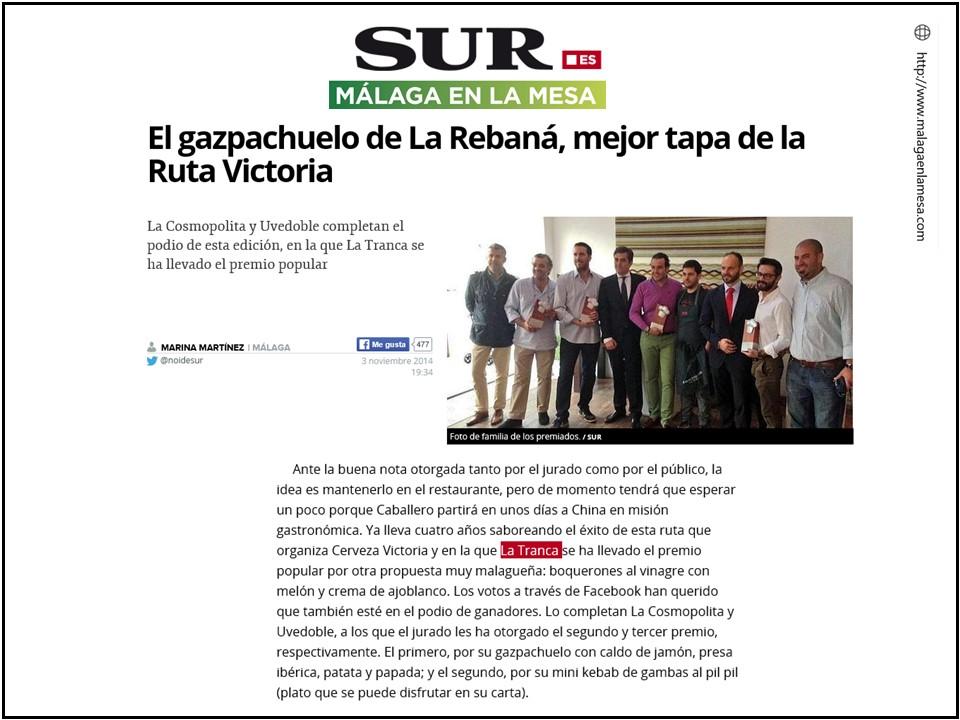 La_Tranca_Málaga_tapa_Victoria