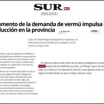 Líderes en venta de vermú de Málaga