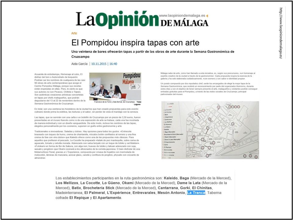 La_Tranca_Mälaga_tapa_Cruzcampo