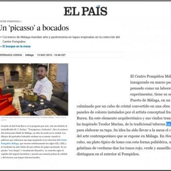 Nuestro Homenaje al Cubo en El País