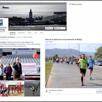 Runners trancos@s en redes sociales institucionales