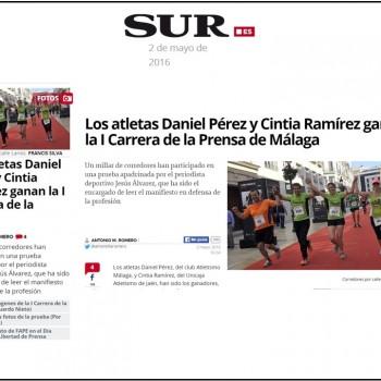 La Tranca por la libertad de Prensa, en Diario Sur