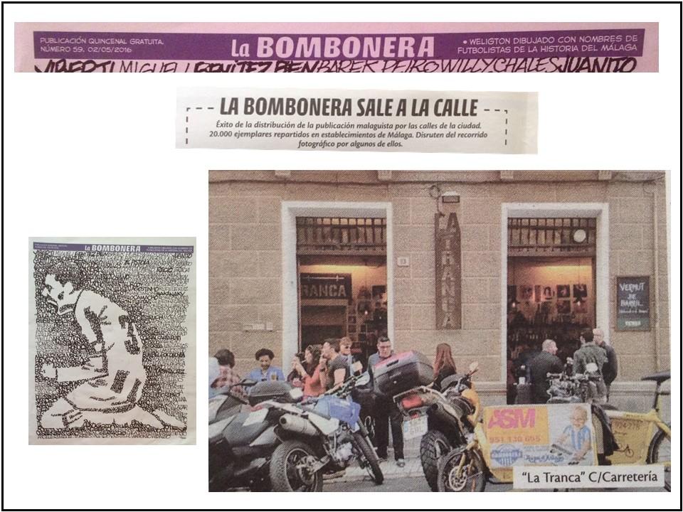 La Tranca, en La Bombonera