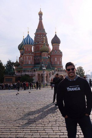 Vladimir trancoso en Moscú, octubre 2018