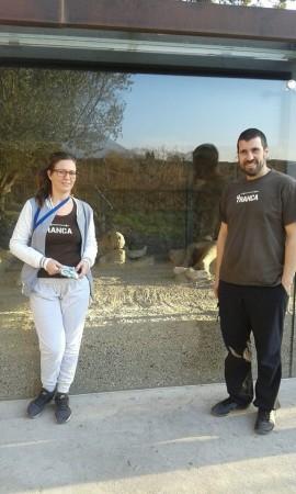 Rocío y Dani. Pompeya, ener 2016
