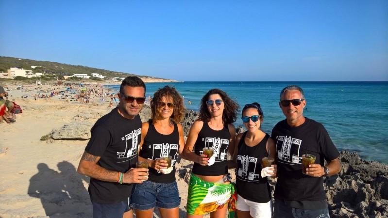 Piratas en Formentera, julio 2016