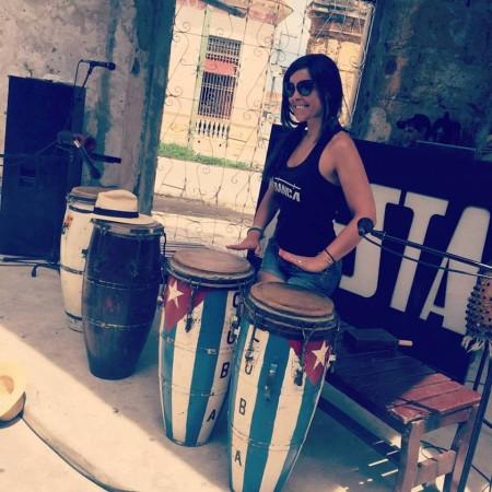 Paloma y el ritmo cubano, julio 2016