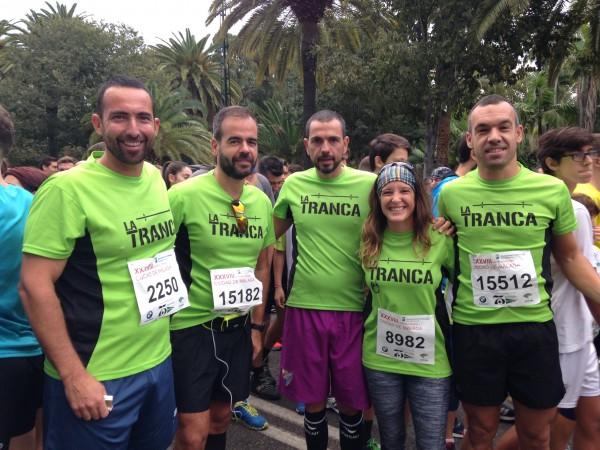 Runners trancos@s Carrera Urbana Ciudad de Málaga