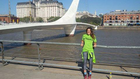Runner Gabriela en Buenos Aires, sept 2016