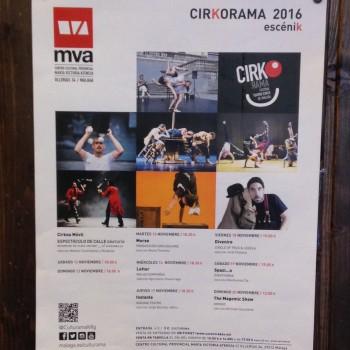 La Tranca con el teatro de circo de Málaga