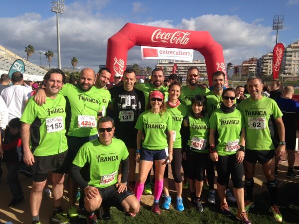 La Tranca Málaga Entreculturas Runners trancosos