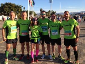 La Tranca Málaga runnerstrancos@s Media Maratón