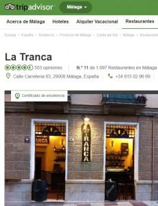 La Tranca Málaga Tripadvisor