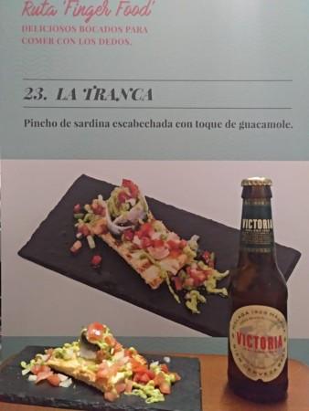 La Tranca Málaga Ruta Tapa Cerveza Victoria