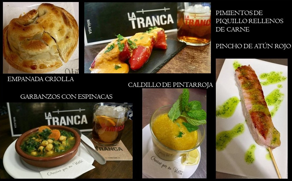 La Tranca Málaga tapas menu