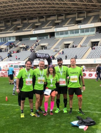La Tranca Málaga Media Maratón runners trancosos