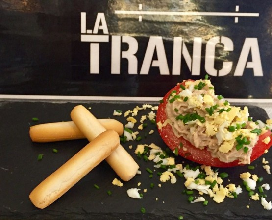La Tranca Málaga Ruta tomate Huevo de Toro 2018