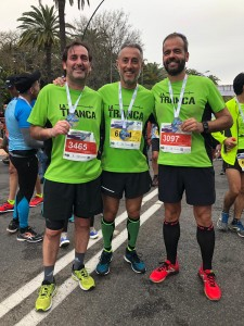 La Tranca Málaga  Media Maratón tapas caña vermú