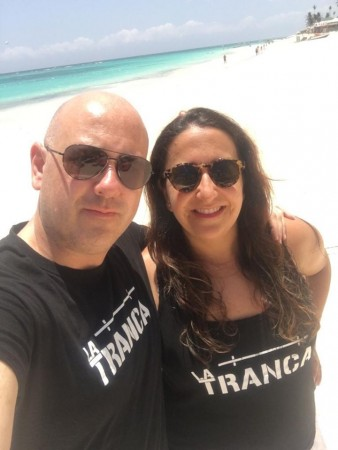 Patri y Javi disfrutando de Punta Cana (Rep.Dominicana), mayo 2019