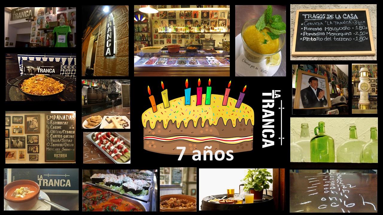 La Tranca Málaga tapas cañas beer vermu cumpleaños