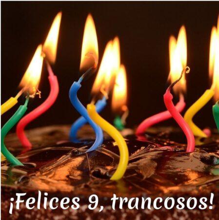 aniversario feliz cumpleaños tranca trancosos